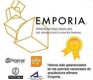 Premios Nacionales de Arquitectura Efímera EMPORIA