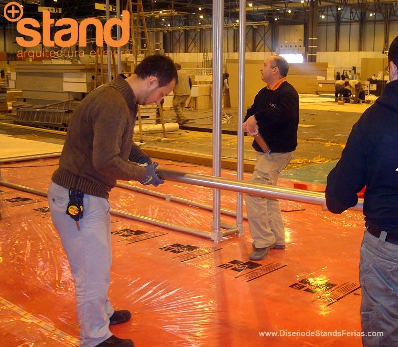 Montaje e Instalación de Stands
