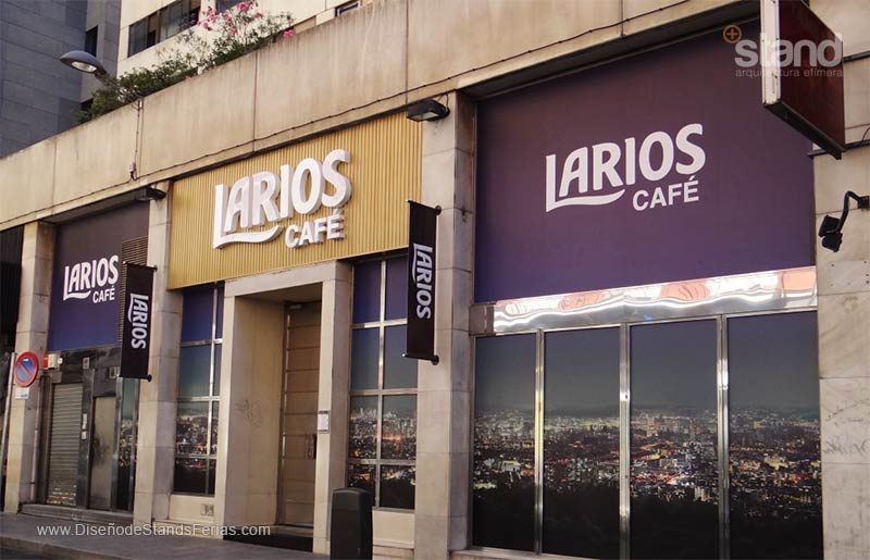 Nueva Imagen Urbana y Moderna a LARIOS Café