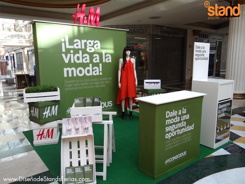 Stands de Diseño para H&M