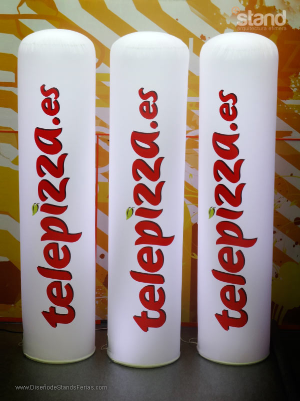 Totems Luminosos Telepizza
