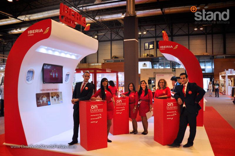 Stands de Diseño IBERIA Card Feria Intergif