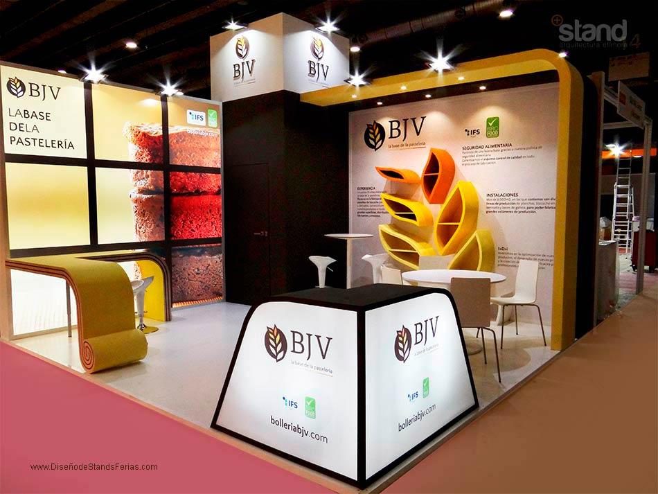 <strong>Stand de Diseño</strong> para Bollería BJV en Intersicop 2017