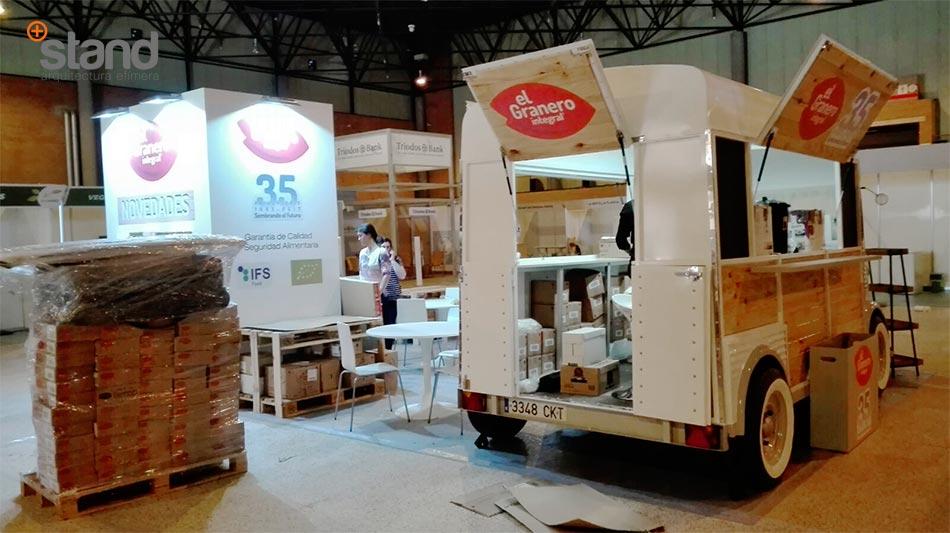 Feria Biocultura Sevilla Stands El Granero