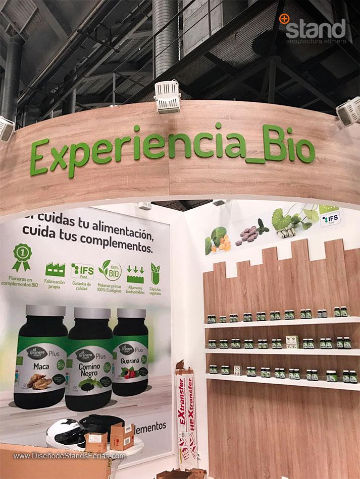 Stand El Granero Integral en ExpoEcoSalud ABR 2017