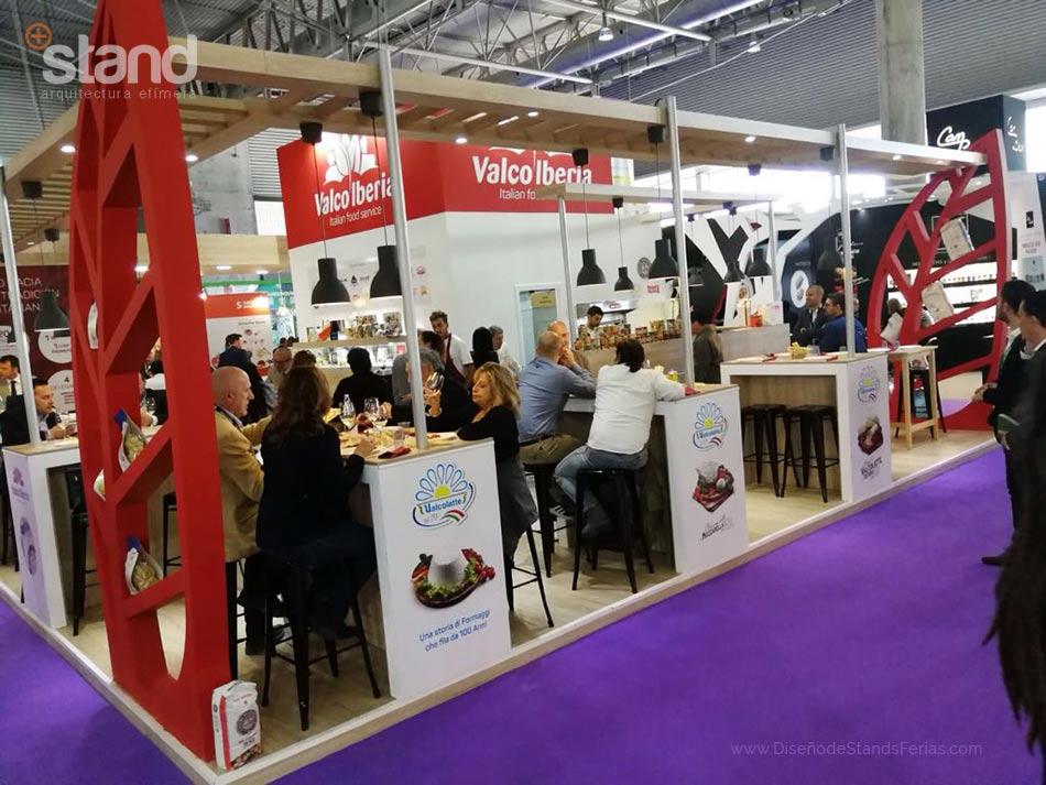 Stand de Valco Iberia en Alimentaria 2018