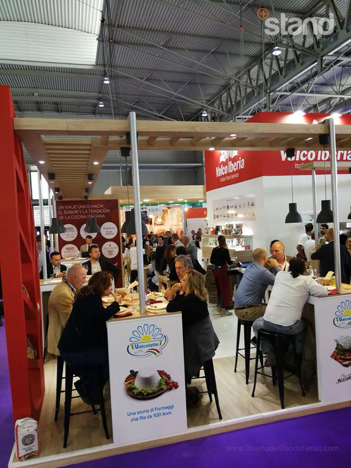 Stand de Valco Iberia en Alimentaria 2018.