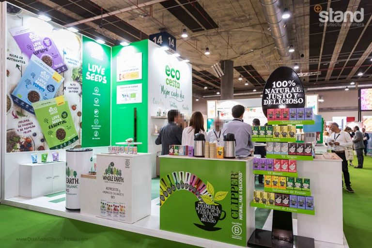 Stand Ecocesta Organic Food Iberia 2019