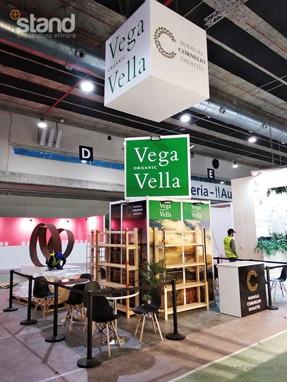 Stand Vega Organic Vella - Organic Food Iberia 2019